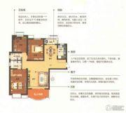 绿都塞纳春天4室2厅2卫161平方米户型图