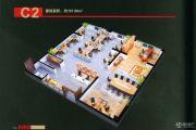 霖岚国际广场157平方米户型图