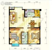 四季阳光城3室2厅2卫0平方米户型图