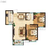 鑫苑・鑫中心2室2厅1卫0平方米户型图