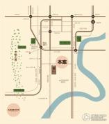 北京城建龙樾湾交通图