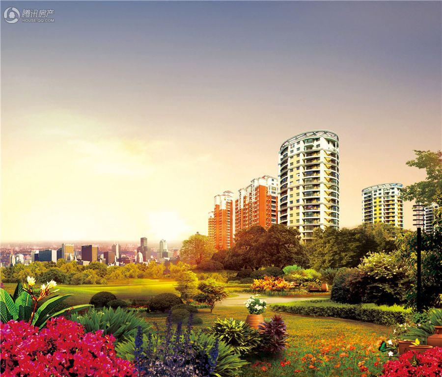 2014年7月10日上海滩花园效果图