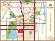 润天观湖国际交通图