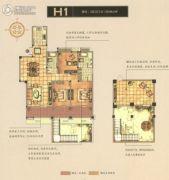 碧桂园梅公馆3室2厅2卫156平方米户型图