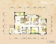 三祺长岛花园3室2厅2卫132平方米户型图