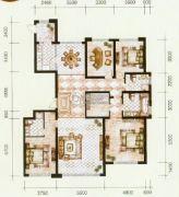 锦尚国际4室2厅3卫240平方米户型图