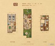 高新和�@4室3厅4卫199平方米户型图