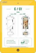 景瑞西联社1室0厅1卫0平方米户型图