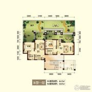 峨眉半山七里坪2室2厅2卫46平方米户型图
