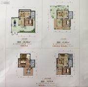 大理公馆1室1厅1卫38--78平方米户型图