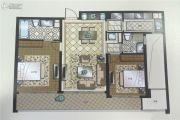 苏州湾壹号2室2厅2卫105平方米户型图