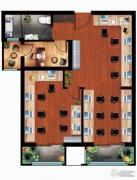 丁豪广场2室2厅0卫0平方米户型图