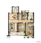 华润国际社区4室2厅2卫142平方米户型图