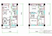 丰泽园3室3厅2卫57平方米户型图
