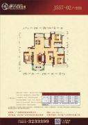 碧桂园3室2厅2卫0平方米户型图