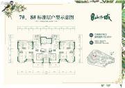 福州恒大山水城3室2厅2卫118平方米户型图