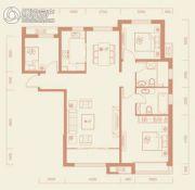 保利・领秀山3室2厅2卫130平方米户型图