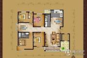 领世郡4室3厅3卫0平方米户型图