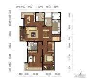 龙洲伊都3室2厅2卫143平方米户型图