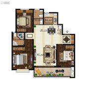 意林・国际公园3室2厅2卫137平方米户型图