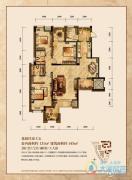 润丰水尚3室2厅2卫131平方米户型图