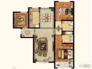 k2玉兰湾3室2厅2卫130平方米户型图