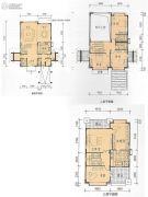 和记黄埔逸翠庄园6室2厅5卫279平方米户型图