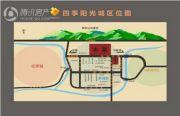 四季阳光城交通图