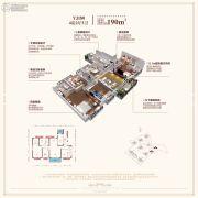 碧桂园・玖玺台4室2厅2卫190平方米户型图