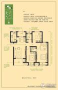 绿地滨湖国际城3室2厅2卫116平方米户型图