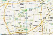 新城上坤樾山四季交通图
