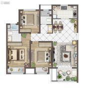 苏胥湾3室2厅2卫114平方米户型图