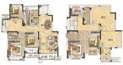 冠景瑞园5室2厅4卫222平方米户型图