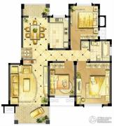 诚河新旅城2室1厅1卫106平方米户型图