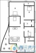 瑞升望江橡树林3室2厅2卫167平方米户型图