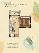 中泰天境花园1室1厅1卫50--60平方米户型图
