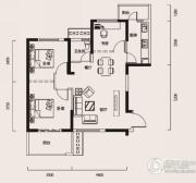 幸福时代3室1厅1卫95平方米户型图