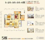 神憩乾珑3室2厅2卫117--119平方米户型图