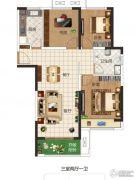 东润玺城3室2厅1卫106平方米户型图