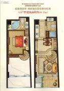 瑞安中润广场1室2厅2卫38--55平方米户型图