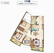 金都・海尚国际3室2厅1卫0平方米户型图