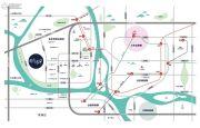 时代水岸交通图