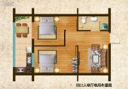 财智公馆2室2厅1卫0平方米户型图