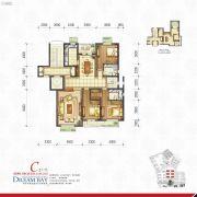 丽汤・首山梦之湾3室2厅2卫164平方米户型图