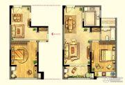 绿地峰云汇1室2厅1卫73平方米户型图