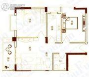 港城国际豪庭2室2厅1卫0平方米户型图