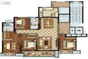 康桥香溪郡4室2厅2卫177平方米户型图