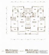 联投金色港湾4室2厅2卫119平方米户型图