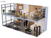 苏州星健中心1室1厅1卫0平方米户型图