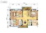 碧桂园・天玺湾4室2厅2卫138--154平方米户型图